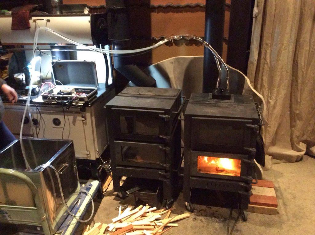 なんたん暖炉発電